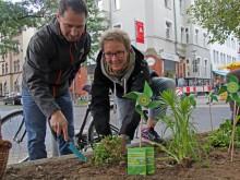 Aktiv für einen grünen Stadtteil